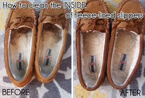 Fleece-lined slippers a pain to clean
