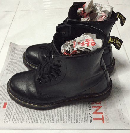 Keep your boots moisture-free
