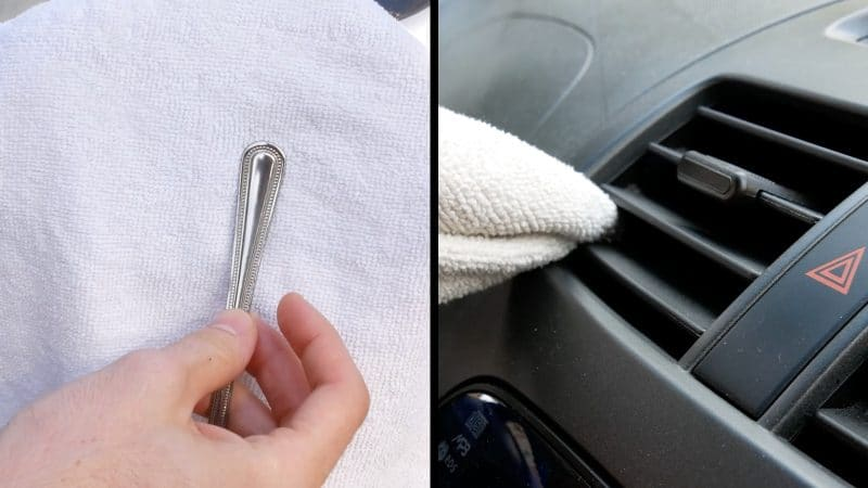 clean the Air Vents of your car periodically