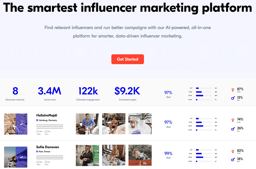 largest influencer marketing platform