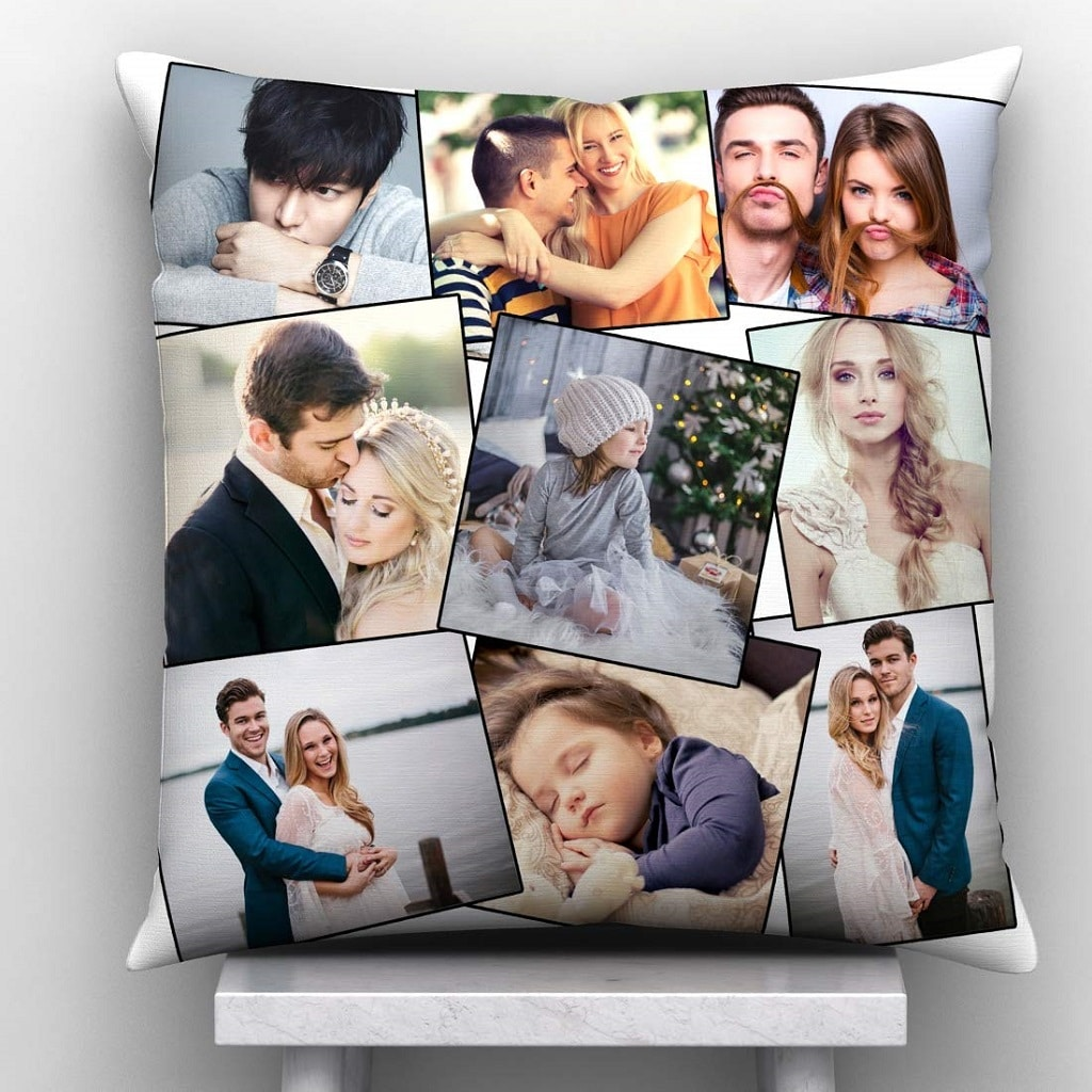 Colourful Personalized Cushion