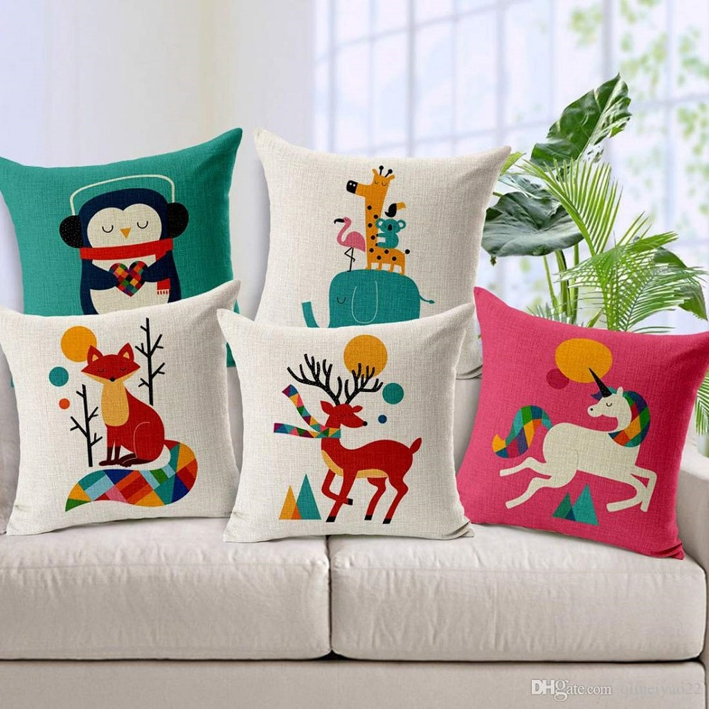 Cute and Adorable Cushion Cover