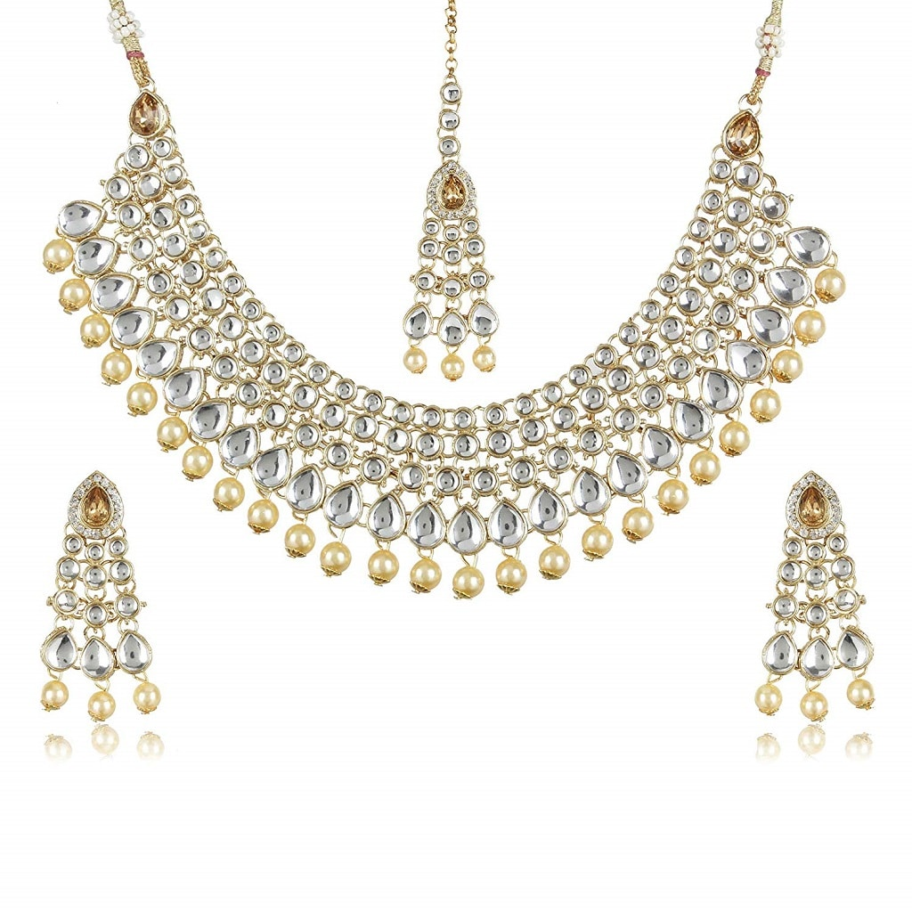 Latest Choker Design Pearl Kundan