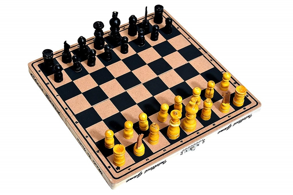 Mariner's Wooden Chess Board
