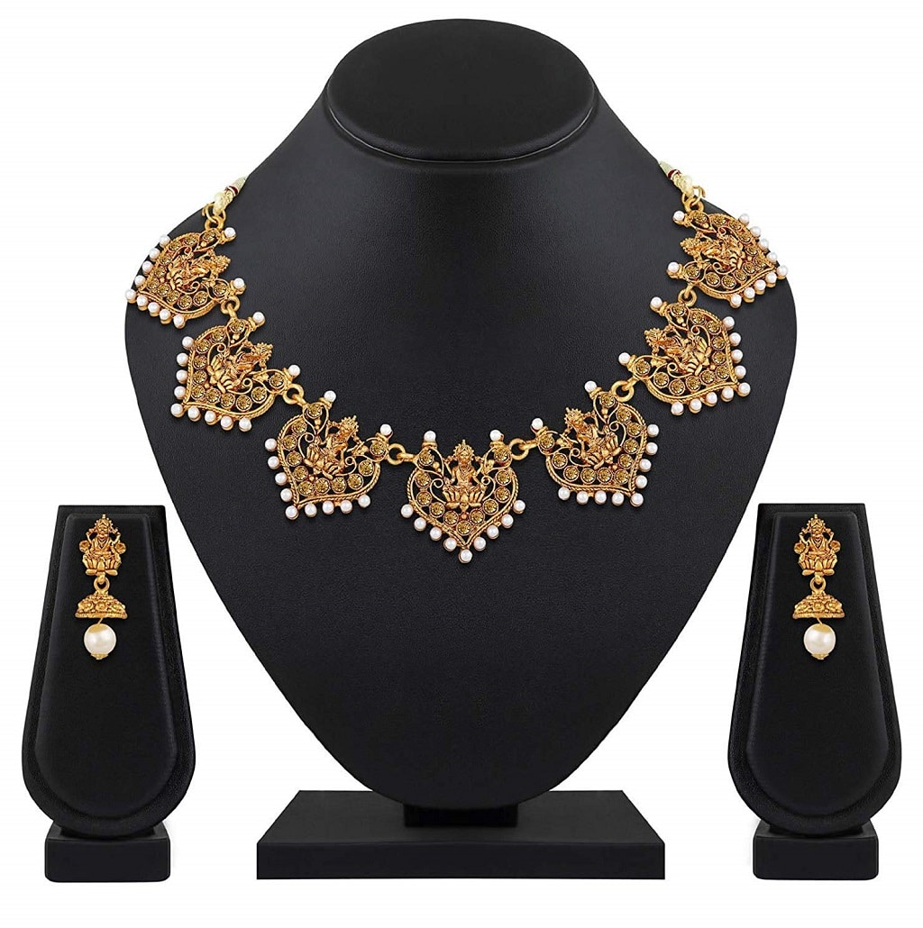 Shining Diva Fashion Latest Designs 18k Gold Plated