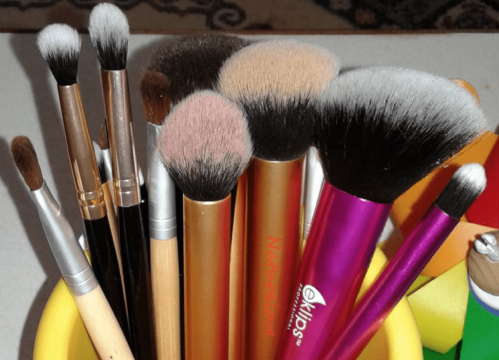Stop blowing on your makeup brushes