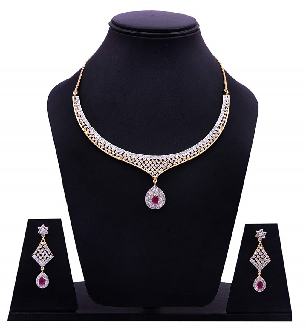 Zircon Necklace Set