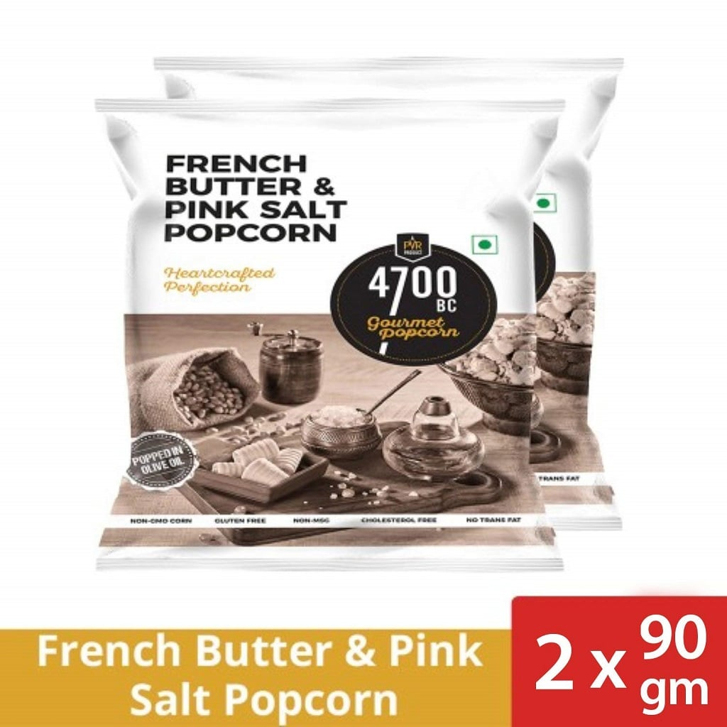 4700 BC-French Butter and Pink Salt Popcorn