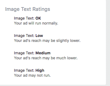 Image text Rating