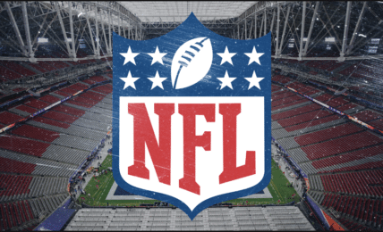 Fake crowd noise for NFL broadcasts