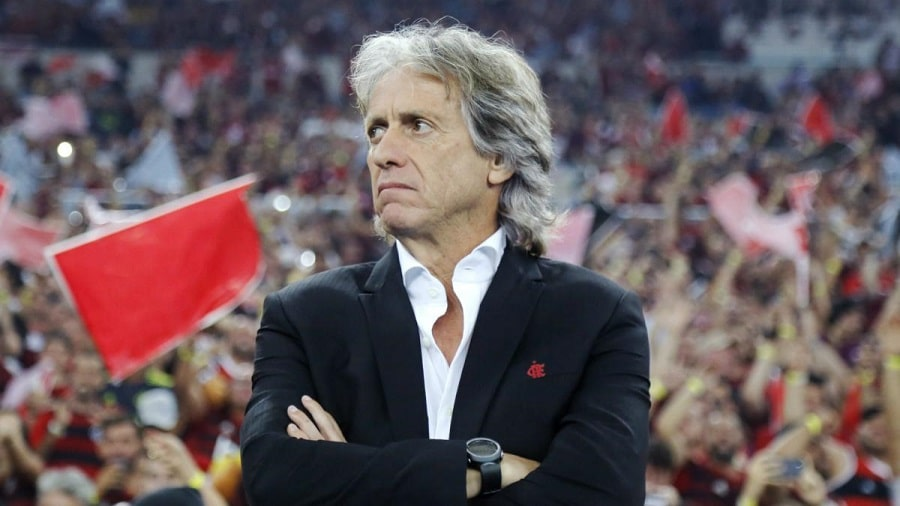 Flamengo boss Jorge Jesus returns to Brazil