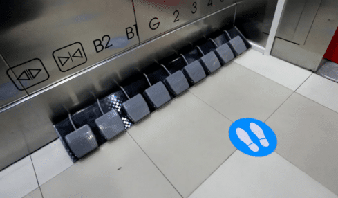 Foot Pedals in place of buttons