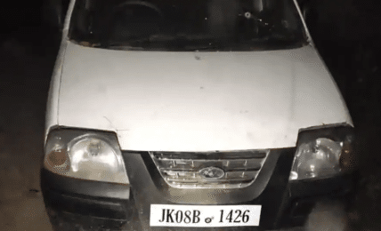 Police intercept car with 30 kg explosives