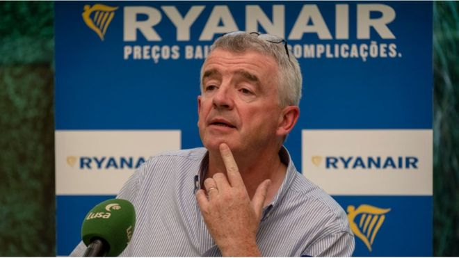 Ryanair set to cut