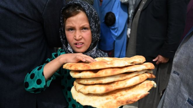 Seven million Afghan children risk hunger