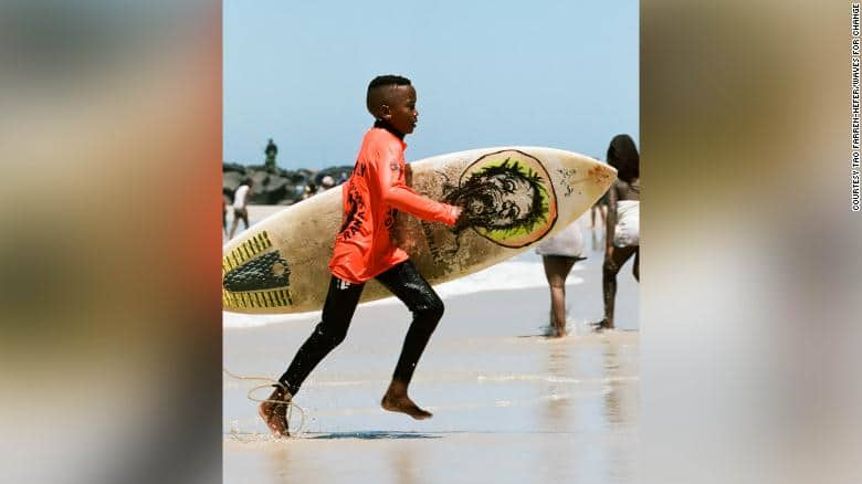 South African surf group helps kids ride