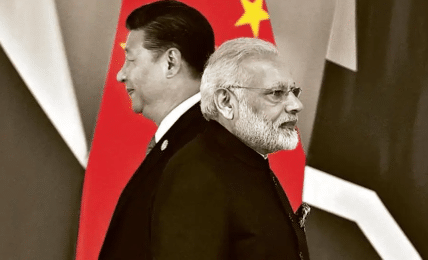 India is sensitive to China