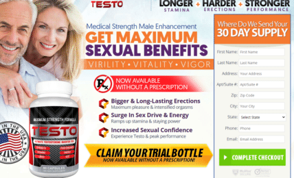 Maximum Strength Testo