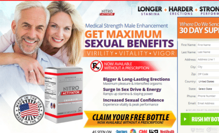 Nitro Activator Male Enhancement