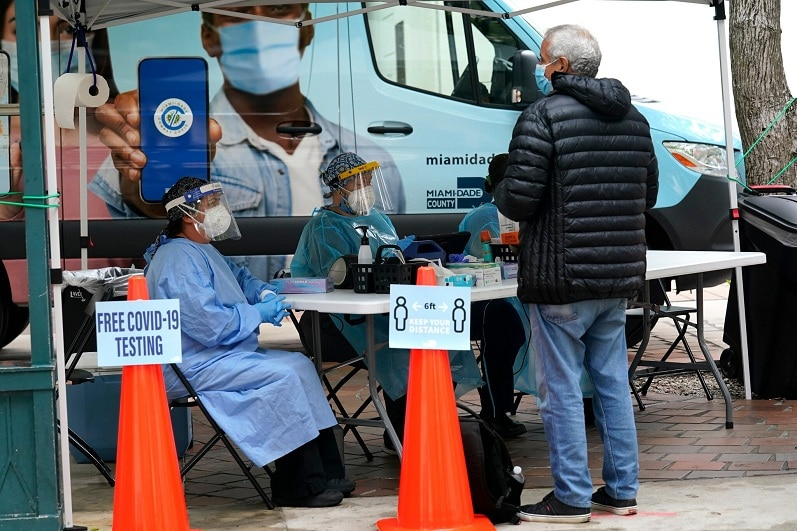 Covid-19 Live Updates: U.S. Nears Record, With More Than 75,000 Virus Cases