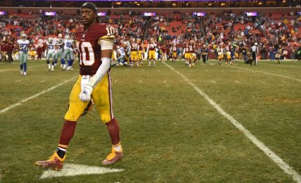 Robert Griffin III's time in Washington, from Rookie of the Year to injury-filled sophomore slump and release