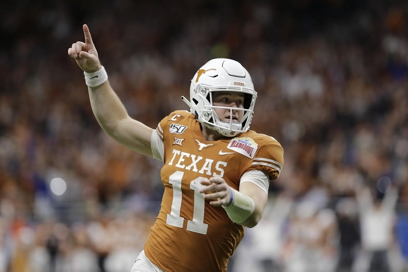 Texas overcomes injury to QB Sam Ehlinger to rout Colorado in Alamo Bowl