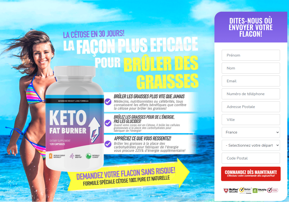 Keto Fat Burner Avis