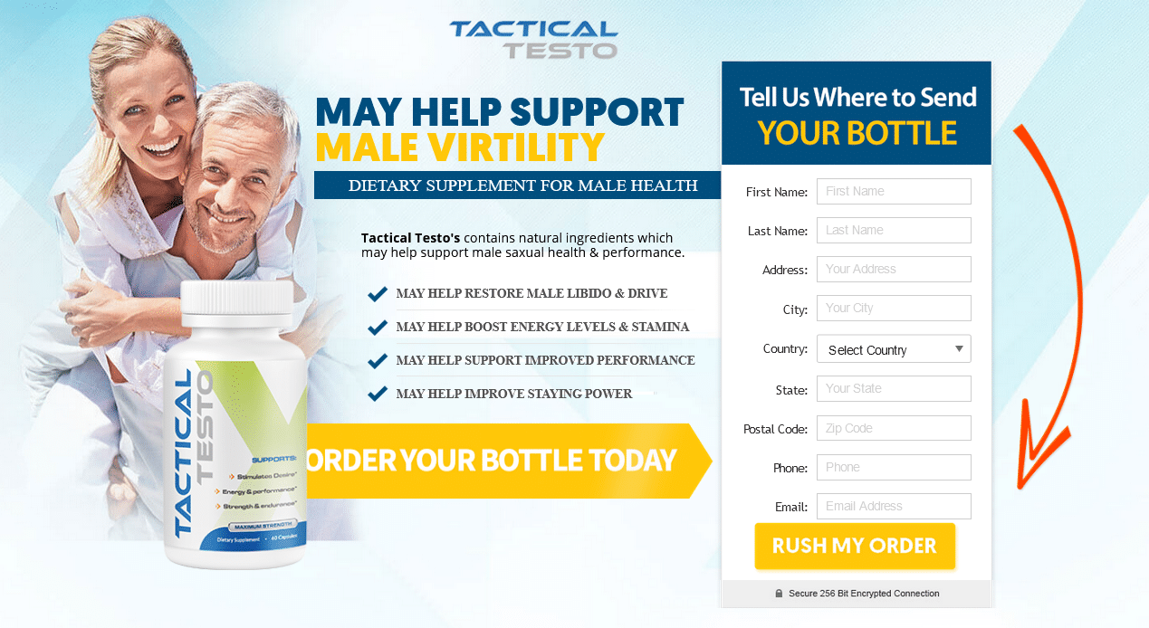 Tactical Testo Testosterone Booster