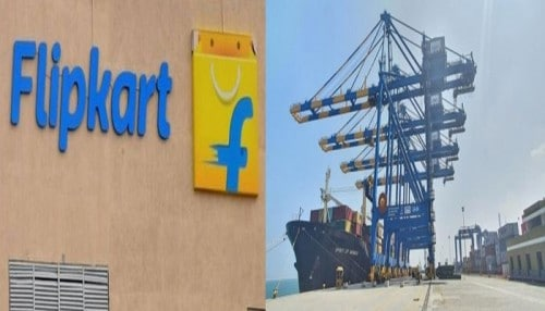 flipkart join to adani group