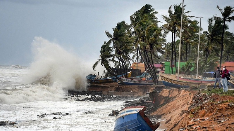 Cyclone Tauktae weakens to rainfall to go on in Maharashtra, Gujarat