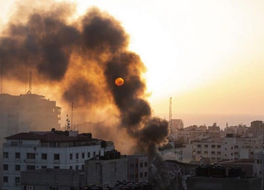 Passing away cost soars as violence stones Gaza