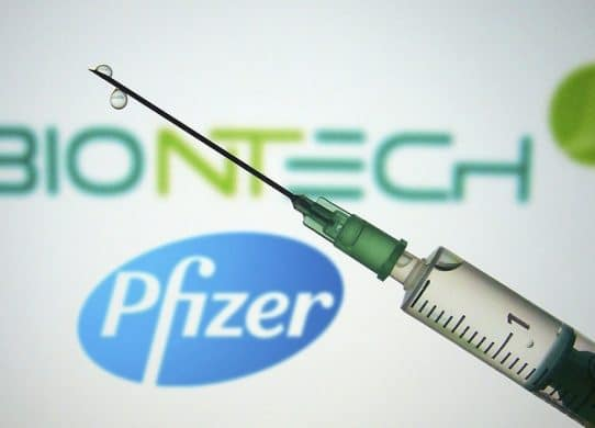 Pfizer and BioNTech announce successful first analysis of their