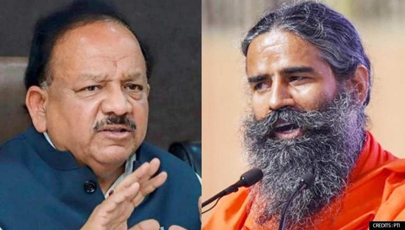"""Ramdev Withdrawing Allopathy Comment """"Reveals His Maturation"""": Health Minister"""