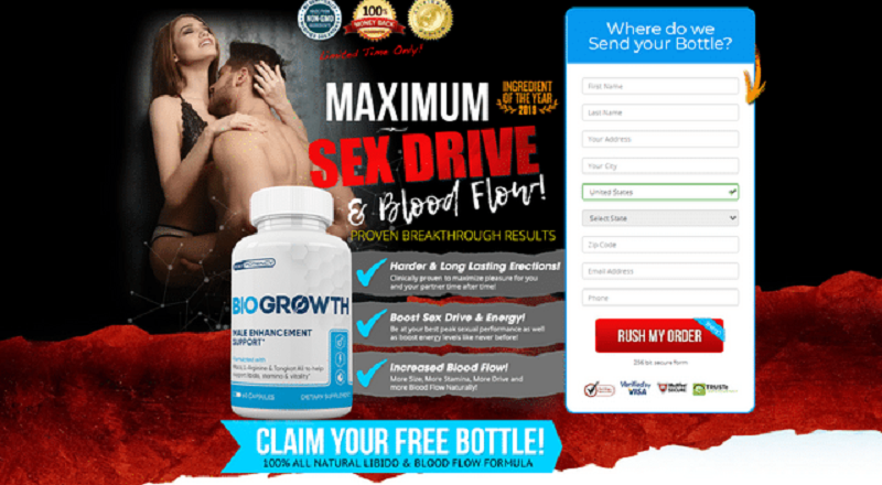 Bio Growth {BioGrowth Pill} – May Help Support Improved Performance !