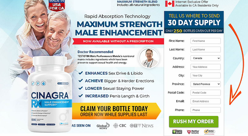 Cinagra RX {Updated 2021} – May Help Support Improved Performance !