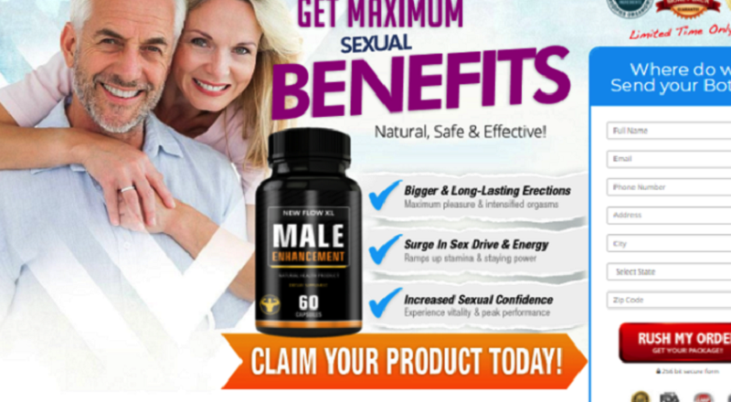 New Flow XL {Tested Pill} – May Help Boost Energy Levels & Stamina !