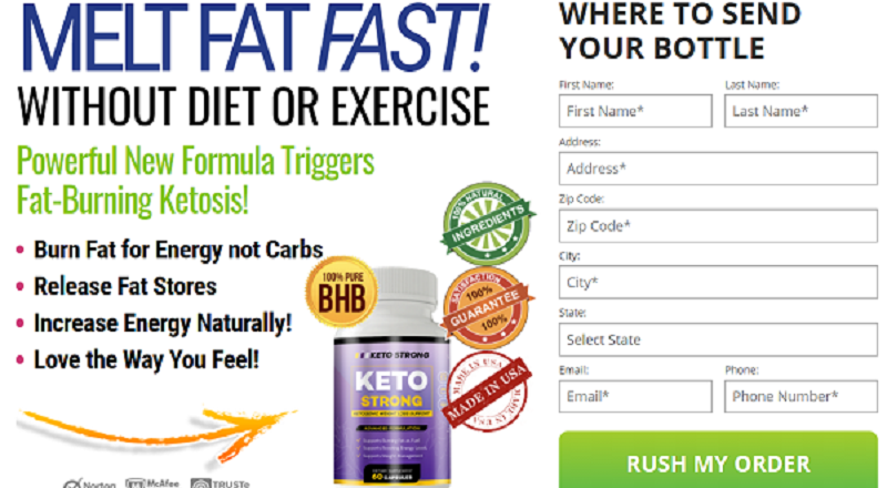 """Keto Strong {UK Review}: """"BEFORE BUYING"""" Benefits,Ingredients,Side Effects & BUY!"""
