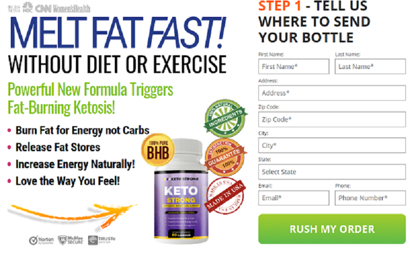 Strong Keto  - The Top Fat Cutter To Burn Fat