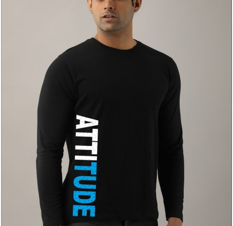 Buy Men's Full Sleeves T-Shirts Online in India at Affordable Prices