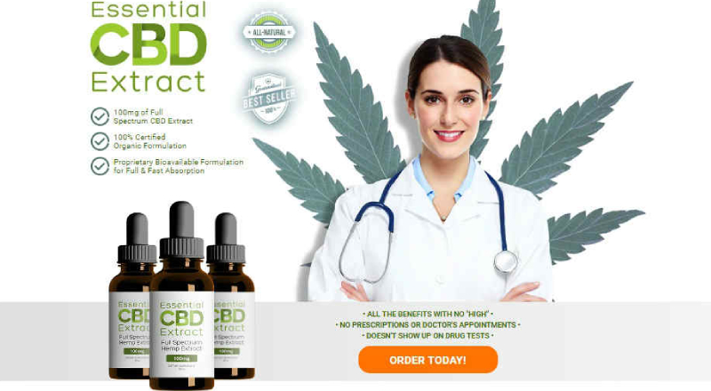 Essential Extract CBD Review – Pain Relief With Leaf Living CBD Hemp Oil!