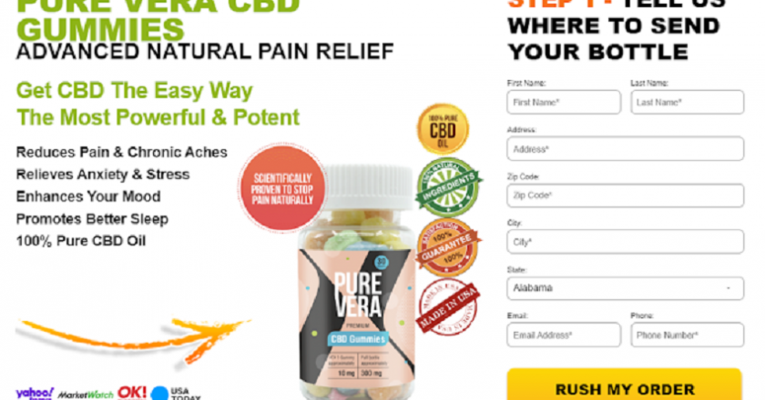 Pure Vera CBD Gummies 2021 – Benefits, Ingredients, Cost And Where To Buy !