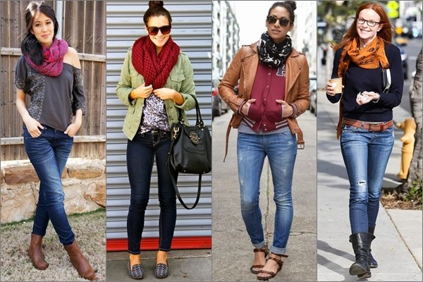 Style your winters by wearing scarves and mufflers